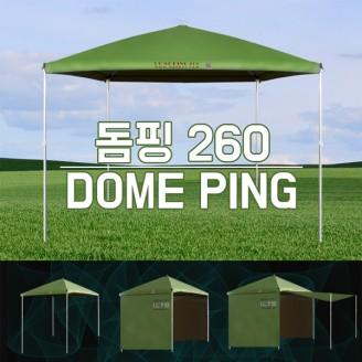 돔핑260 사각 파라솔 겸 텐트 (타프)